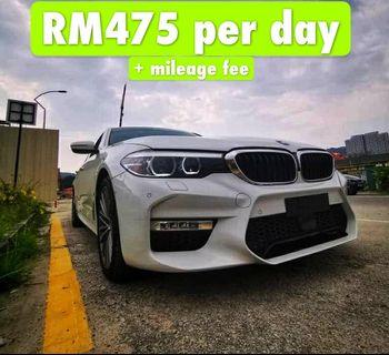 Rent a BMW G30 530e in Penang
