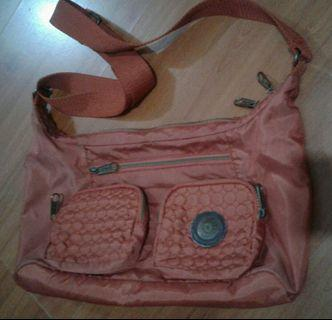 Kipling maroon bag