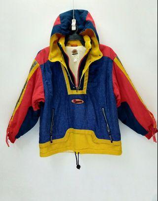 Reseeda Cross Winter Gear Puffer Jacket with Hoodie