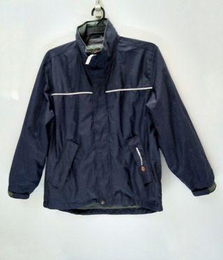 Japanese Brand Rossignol Zip Up Outdoor Jacket with Hoodie