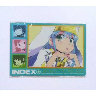 (Limited) To Aru Majutsu no Index x Monthly Shonen Gangan - Mousepad