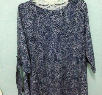 #1111special BLOUSE NAVY