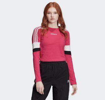 Adidas Originals Long Sleeve Crop Top