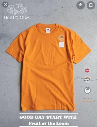 fruit of the loom 橘色素T