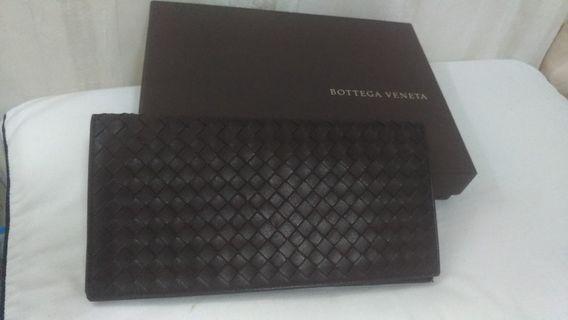 BV牛皮編織護照(商務)夾
