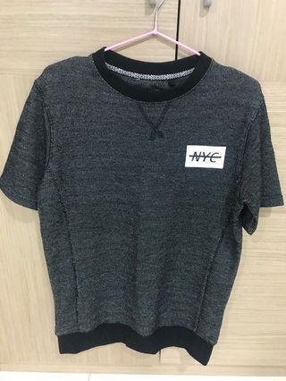 澳洲購入 澳洲品牌 Factory 短袖 黑灰 質量優 男XS 男S可穿