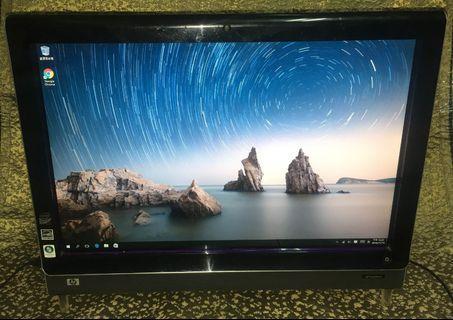 """HP TouchSmart IQ500 all-in-one 22"""" 觸控電腦"""