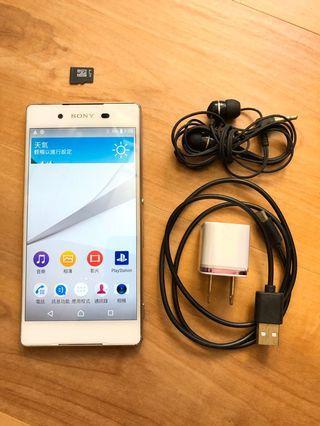 [售] Sony Xperia Z3+ 智慧型手機 [價格]3000 [物品狀況]2手     [交易方式]面交自取 7-11或全家取貨付款 [交易地點]台南市東區     [備註]無盒裝/旅充/耳機/記憶卡8GB
