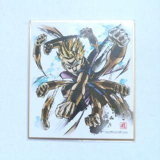 Dragon Ball Super - Kyabe SSJ - Mini Shikishi / Mini Autograph Board
