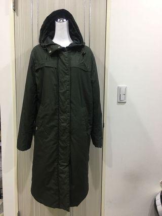 converss長版鋪棉外套