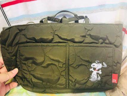 日本 ROO品牌 SNOOPY 袋 收納