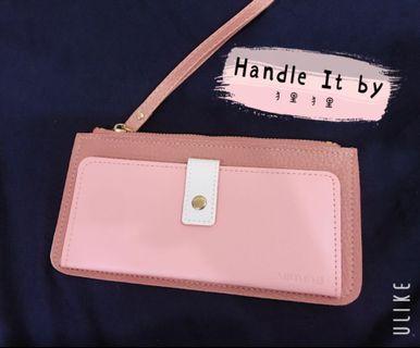 Miomori Sweet Pink Double Wallet 🌸