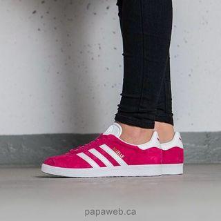 US 10 Adidas Originals Bold Pink Gazelle sneakers