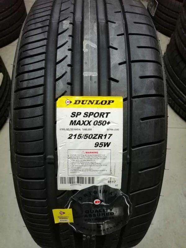 215/50R17 Dunlop Sport Maxx 050+