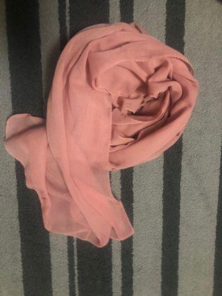 eyelash cotton shawl