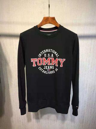 TOMMY HIGHER 男生字母圓領衛衣