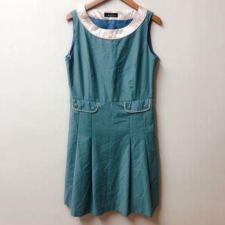 日牌 Due sei 修身立體剪裁氣質洋裝