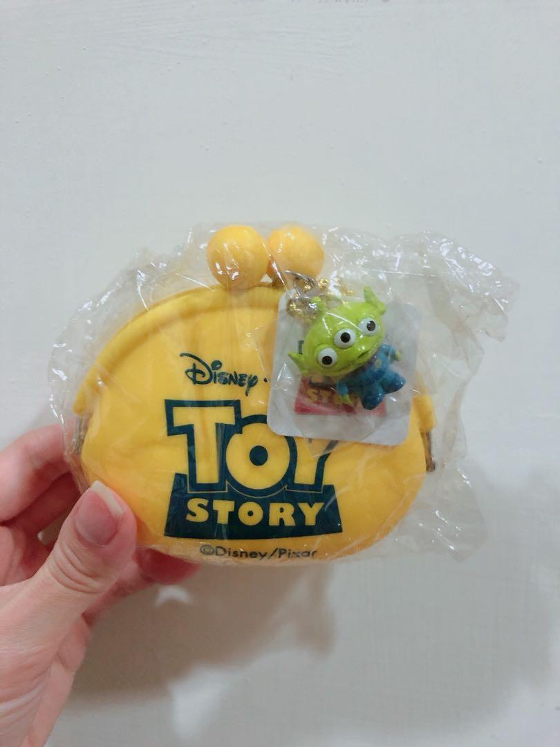 迪士尼 3眼怪 零錢小包