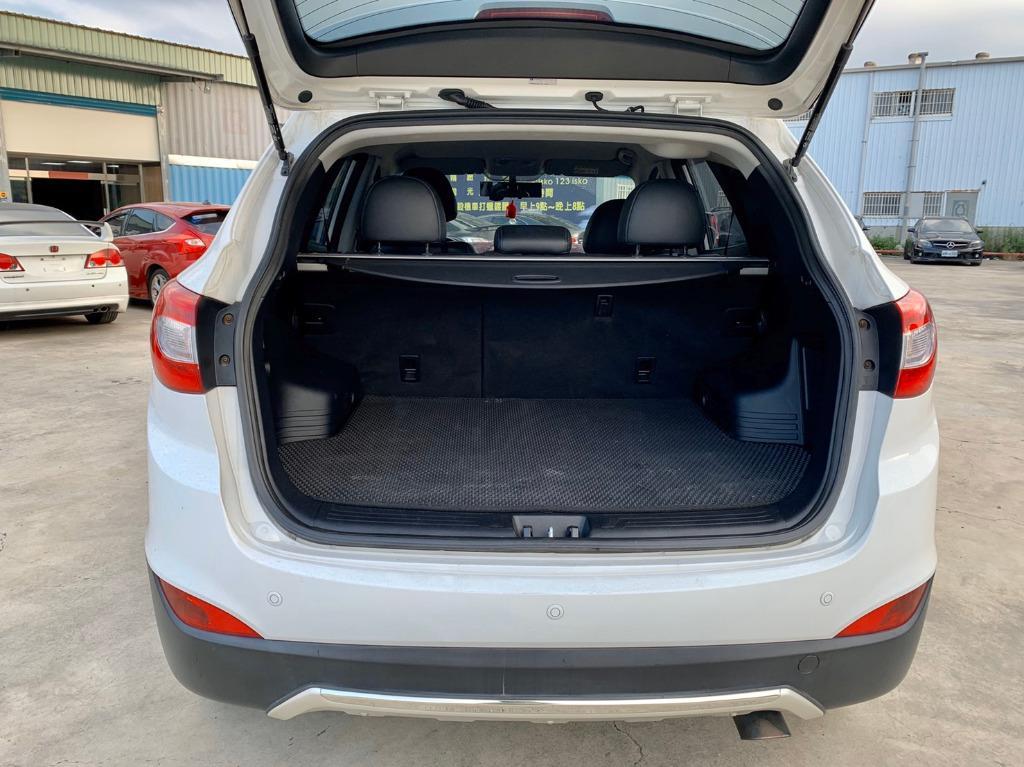 買車不是靠運氣 而是要買的安心 2014 現代 IX35