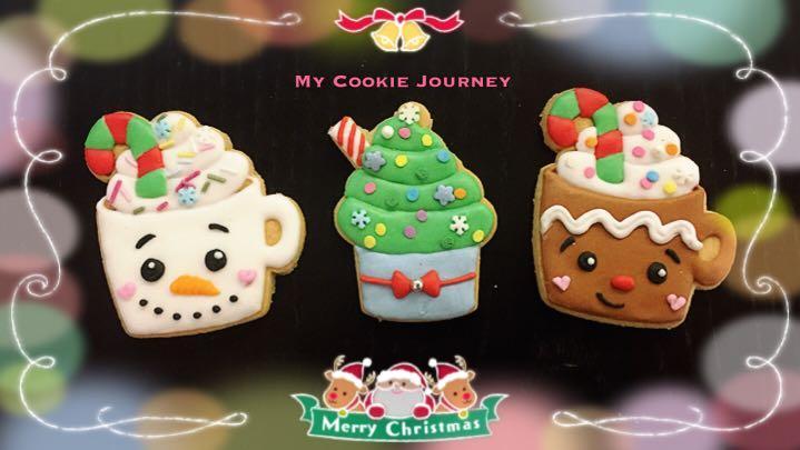 [需預訂 隨時截單]聖誕糖霜曲奇 6-7cm
