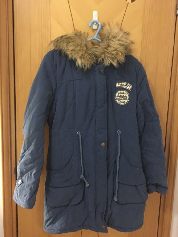 厚身 毛毛 外套 Winter Jacket