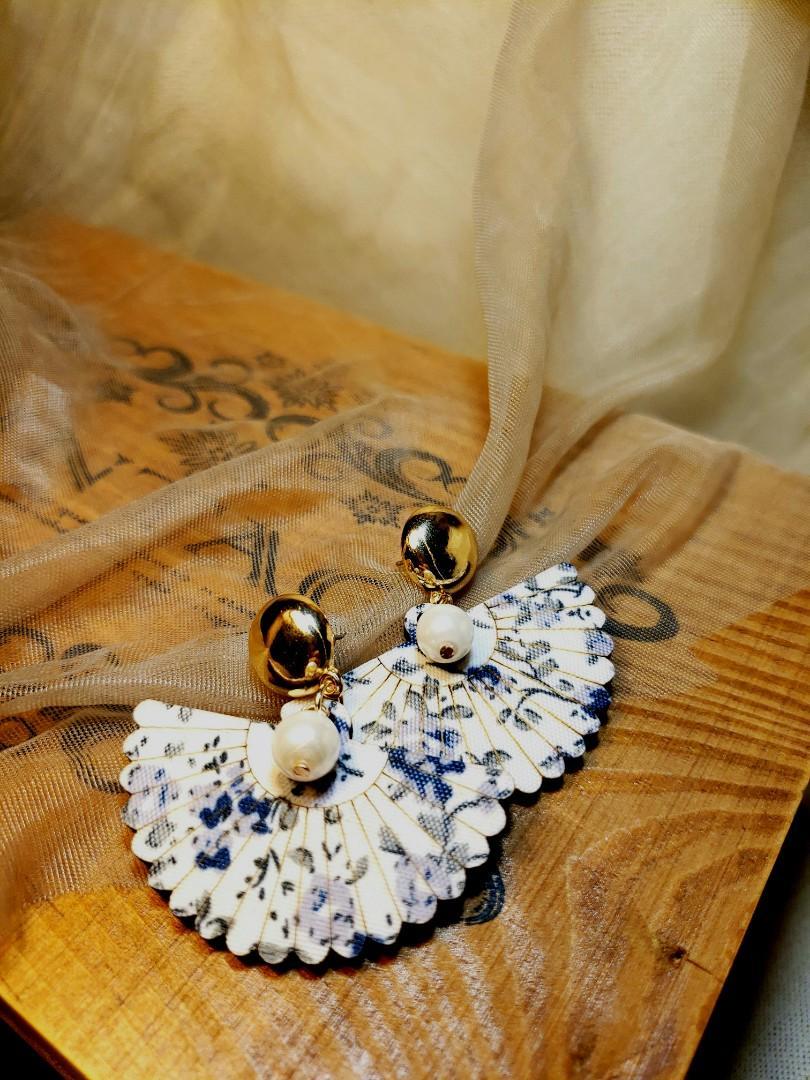 復古風耳環 earrings