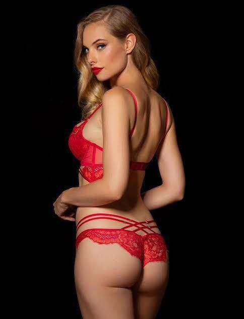 ❤️ Honey Birdette Candice Bra Red/Pink BNWT 14F ❤️