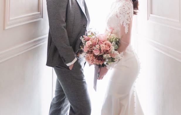 結婚花球 lemongrass