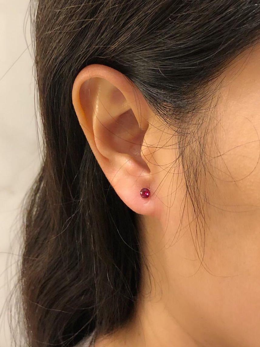 即選即做 Swarovski 水晶耳環 #防敏感