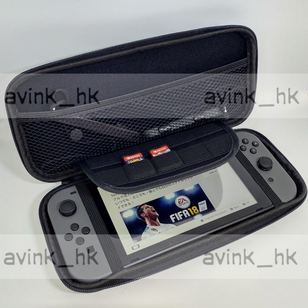 全新 switch 機套+玻璃貼 可以撑起主機 任天堂 switch 保護包 switch 機袋 nintendo switch 保護包 switch 玻璃貼 bulk pack 全屏 switch 貼 console case
