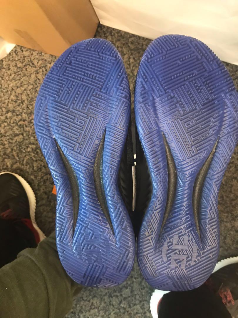 Adidas Harden B/E X Black Blue US7.5