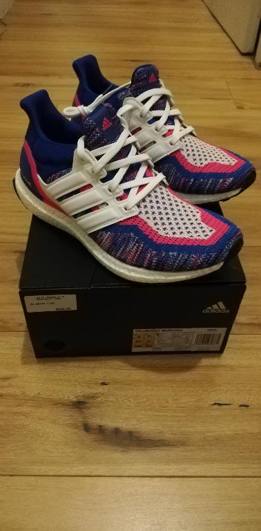 Adidas UltraBOOST 2.0 Multi Color Sneakers Running Shoes Women's US 9