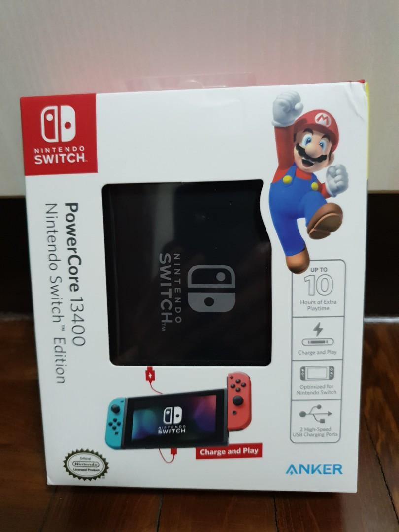 Anker PowerCore 13400 Nintendo Switch Edition  (PD)