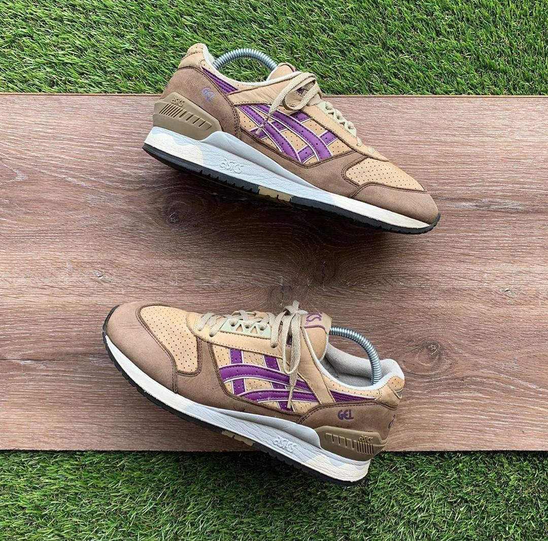 Asics Gel Respector Leather Brown