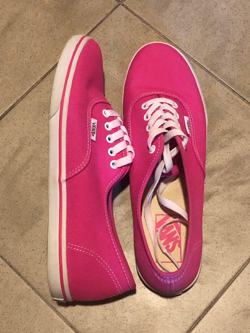 vans lo pro neon pink