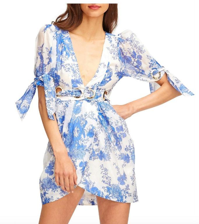 BNWOT ALICE MCCALL OCEAN ONLY EVERYTHING MINI DRESS - SIZE 10 AU/6 US (RRP $395)
