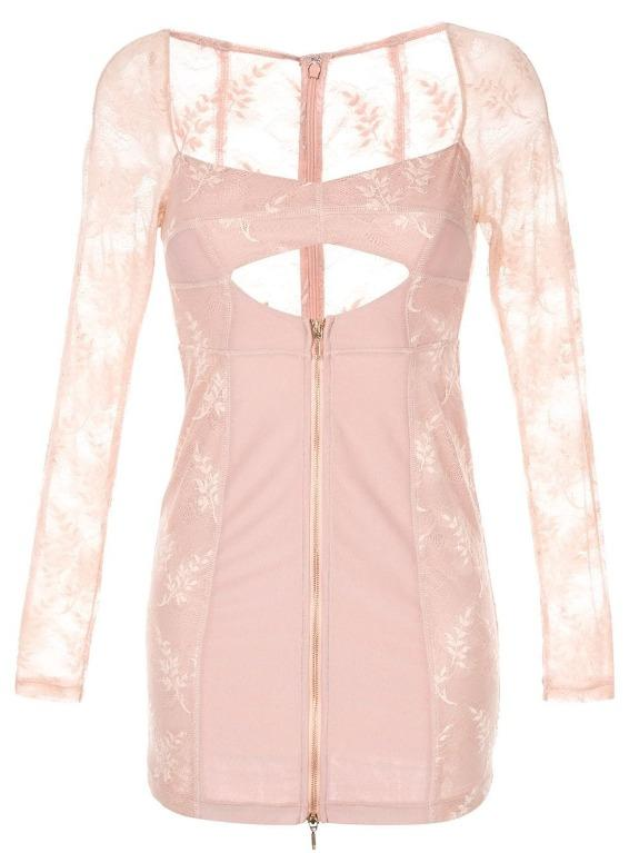 BNWT ALICE MCCALL NUDE LOVELAND MINI DRESS - SIZE 10 AU/6 US (RRP $295)