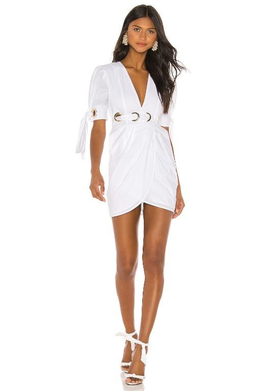 BNWT ALICE MCCALL PORCELAIN EVERYTHING MINI DRESS - SIZE 14 AU/10 US (RRP $395)