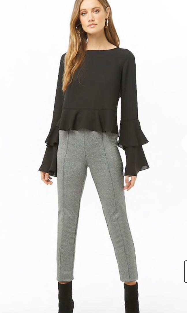 Brand New Auth Forever 21 Chiffon Top