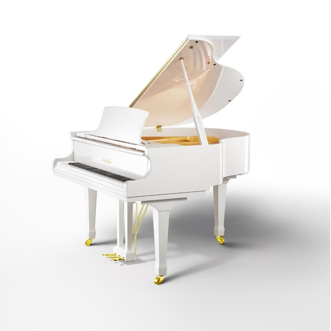 (Brand New) PEARL RIVER GP148 White Grand Piano - World's Best-Selling Piano