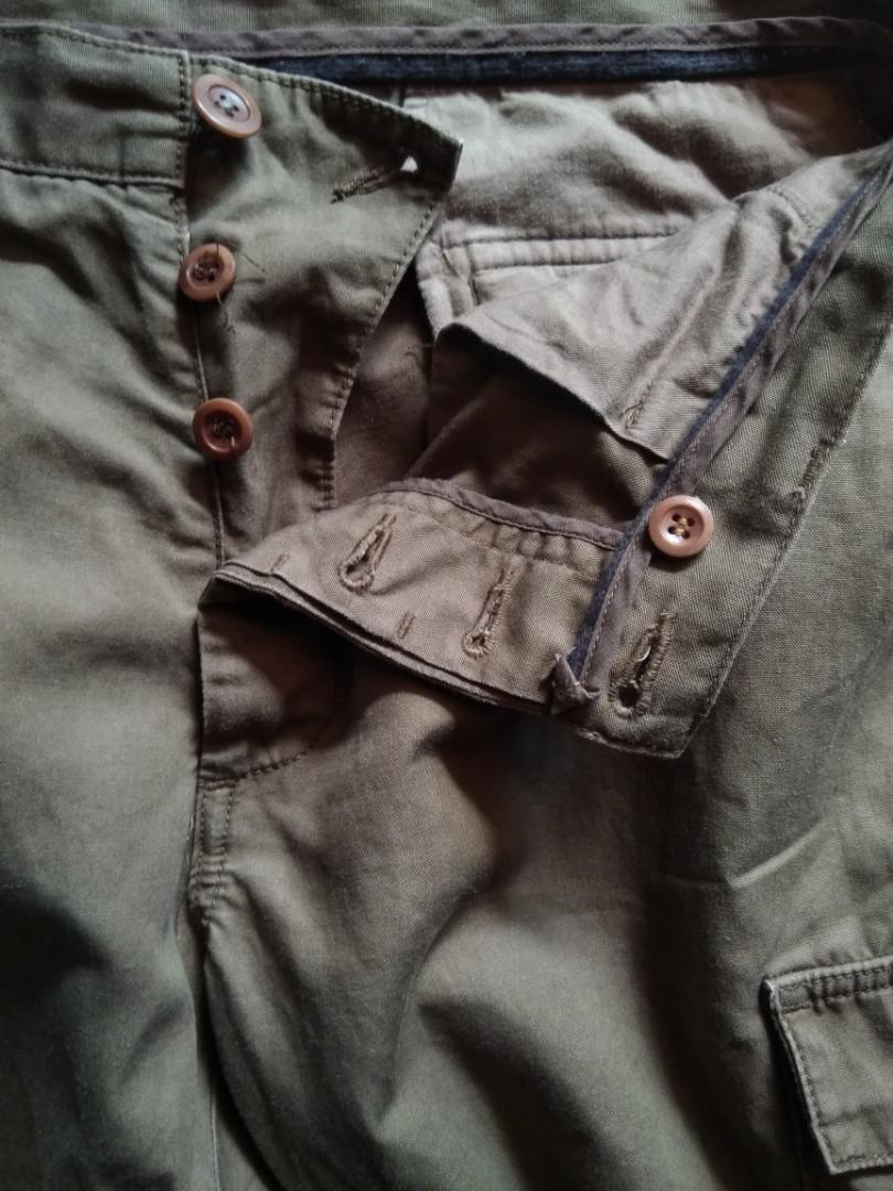 Cargo pants united arrows japan