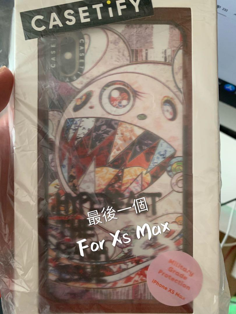 Casetify x 村上隆 x HBX for Iphone XsMax case非Nike supreme
