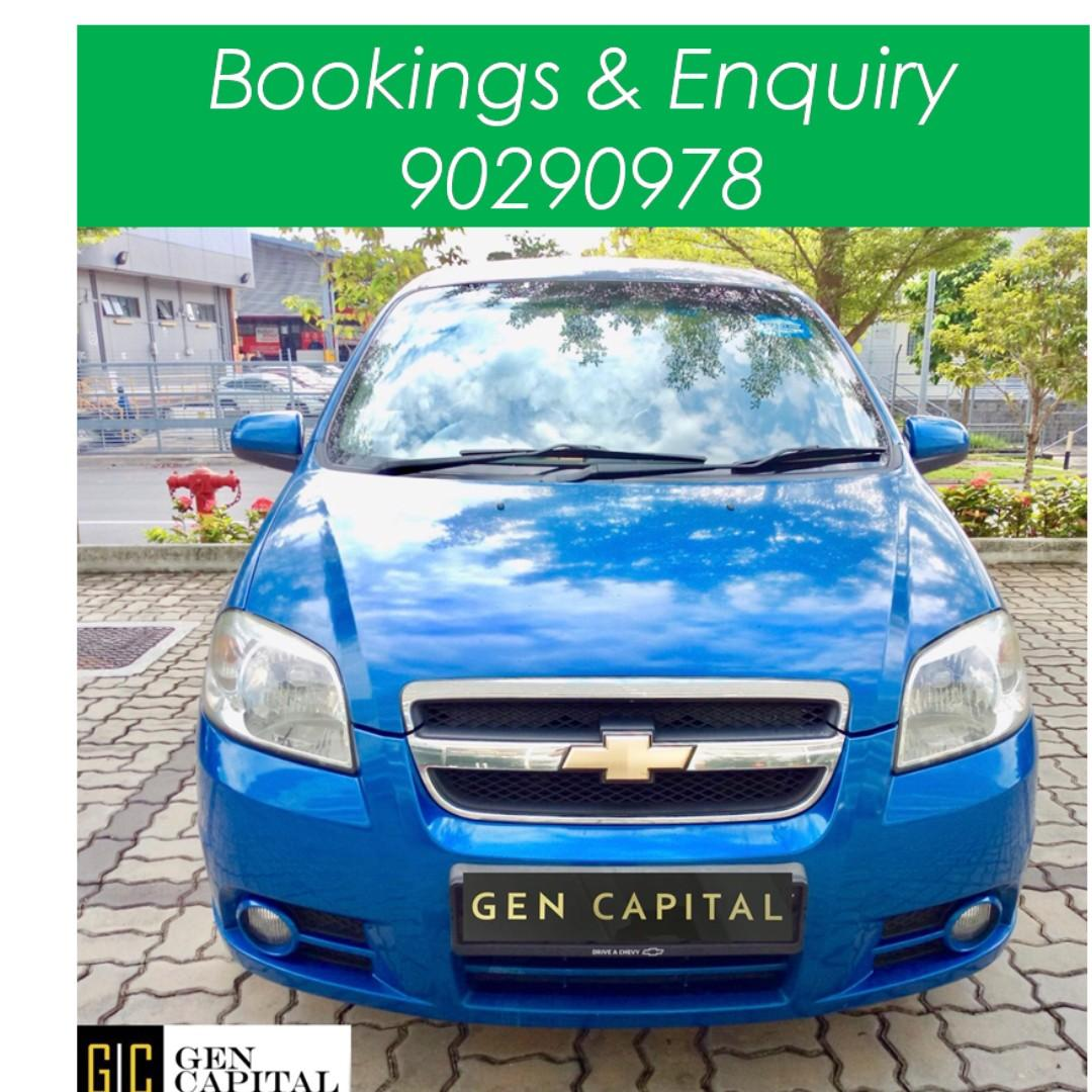 Chevrolet Aveo Sedan - Just down $500 and drive off! Whatsapp @90290978 NOW!!!