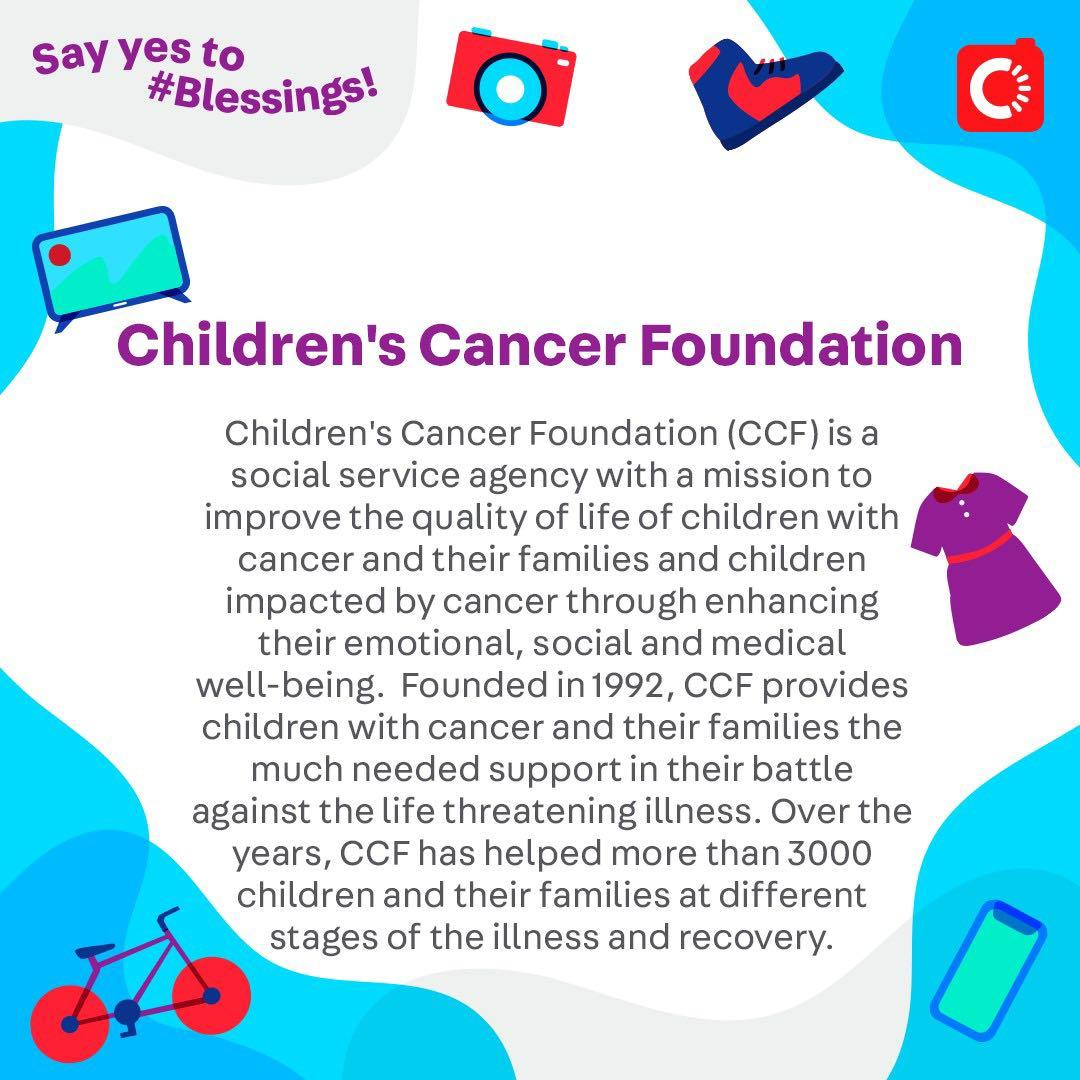 Children's Cancer Foundation is looking for...