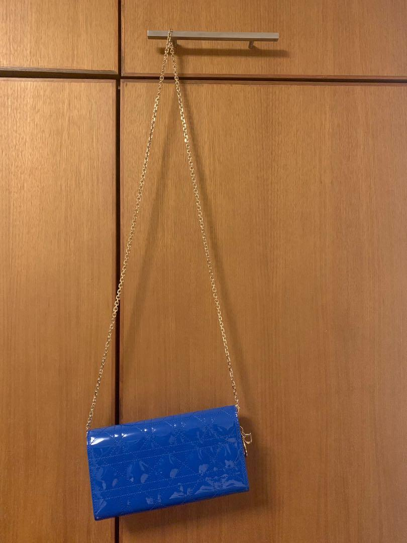 Christian Dior Wallet on Chain (used once)