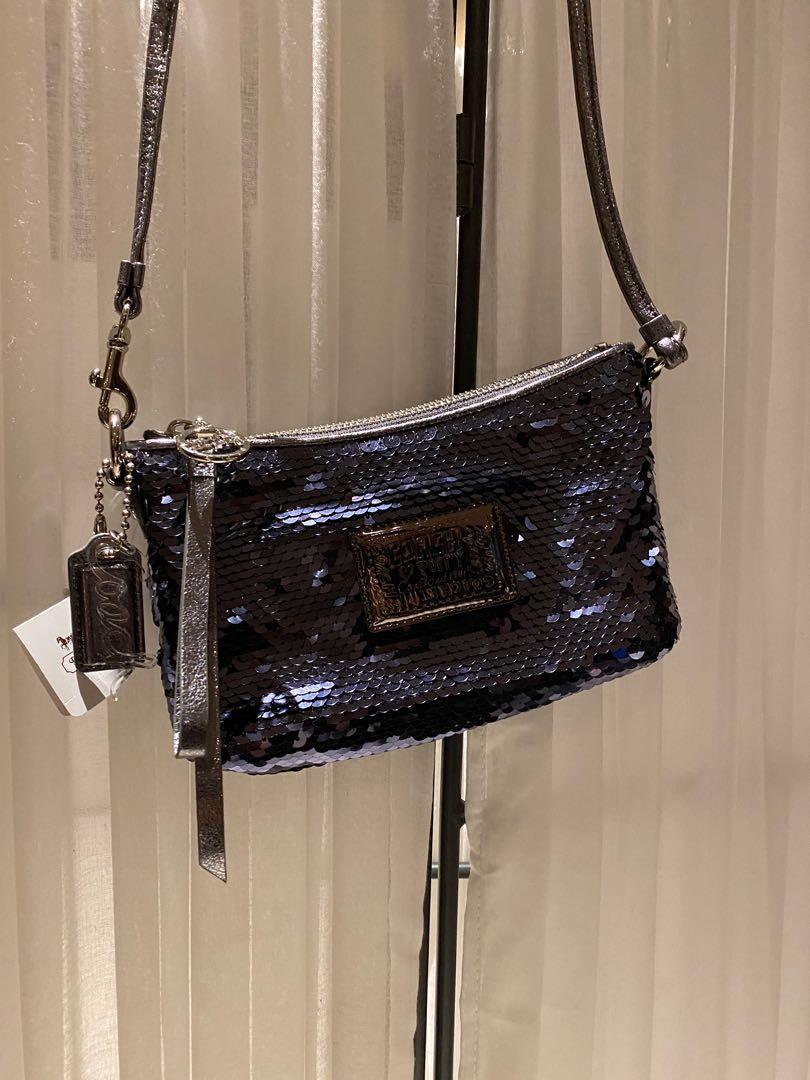 Coach Sequin Small Handbag (Brand new-Tags attached)