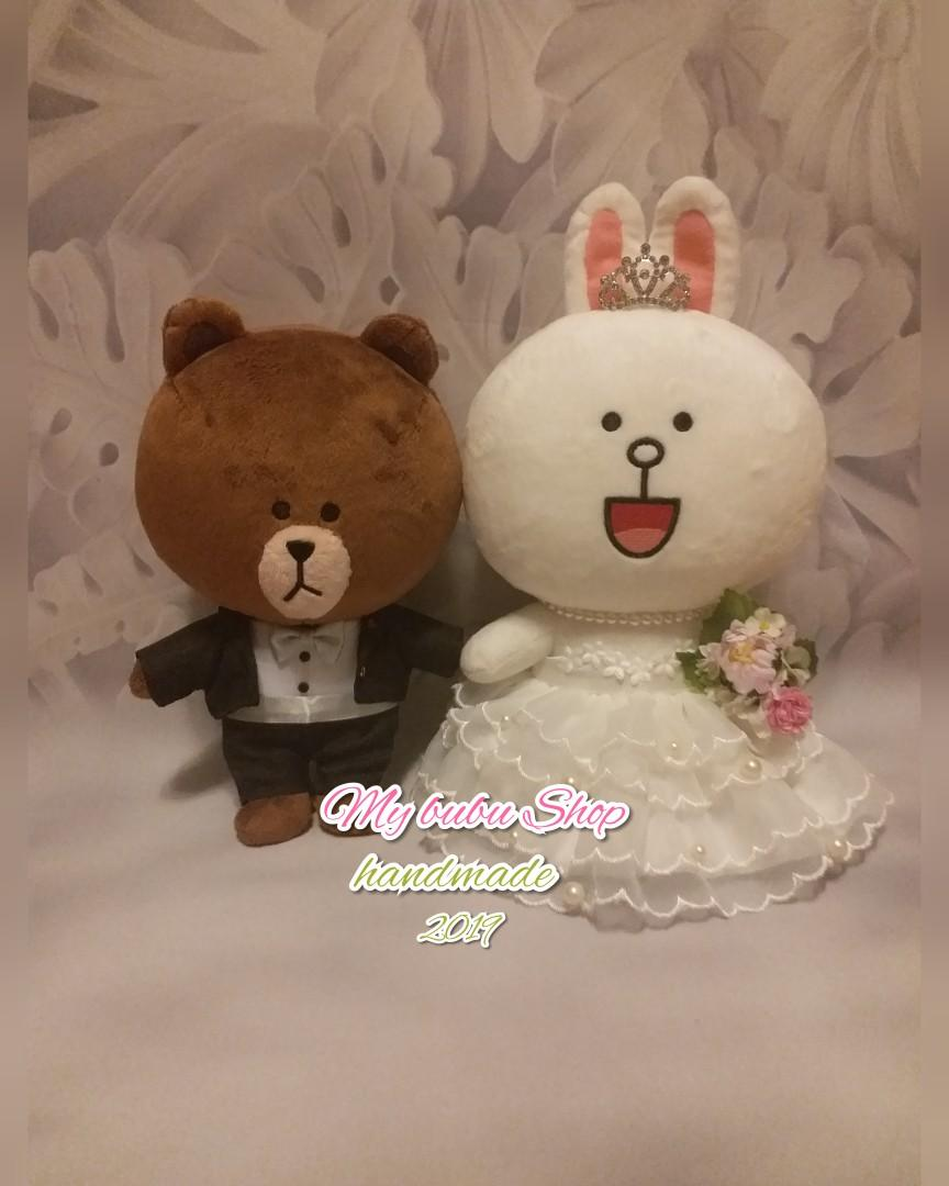 DIY公仔結婚禮服訂製