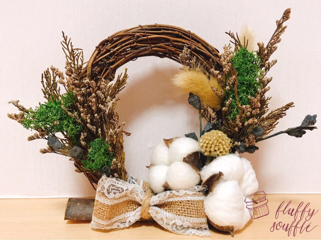 DIY 聖誕花環 DIY Christmas wreath
