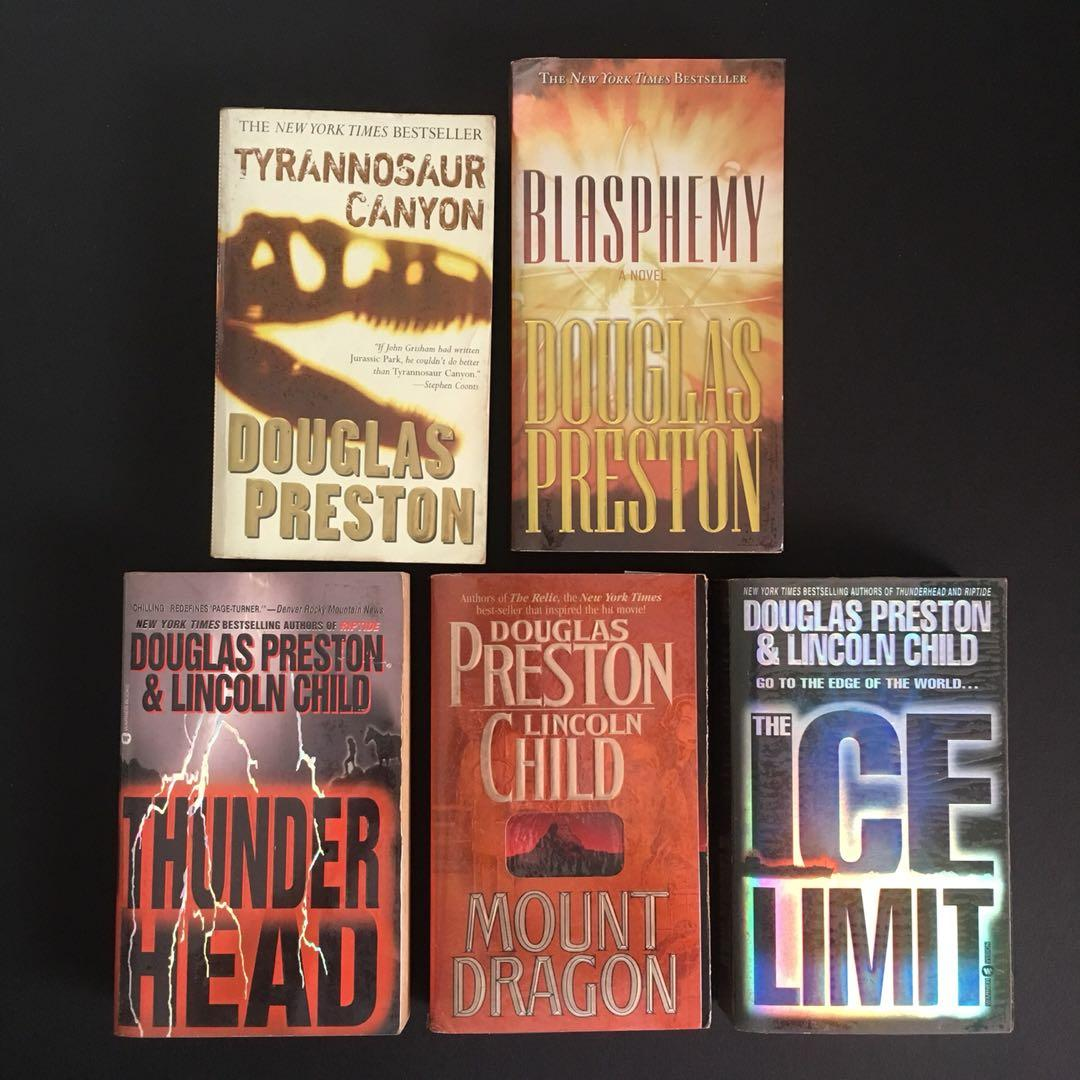 Douglas Preston & Lincoln Child - Horror Scifi Thriller Suspense Mystery Bestseller Books