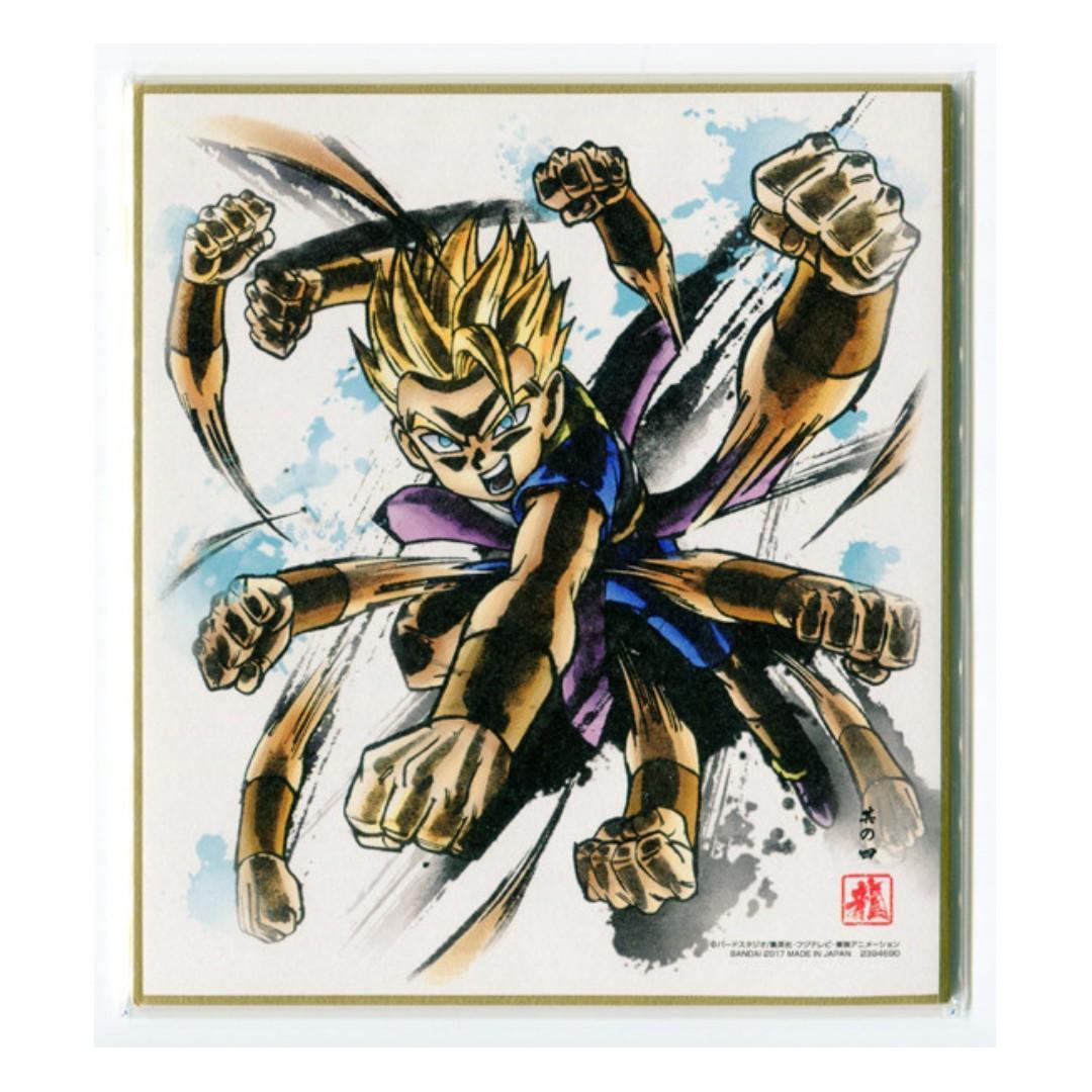 Dragon Ball Super - Kyabe SSJ - Mini Shikishi / Mini Autograph Board
